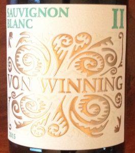 Sauvignon blanc Weingut von Winning
