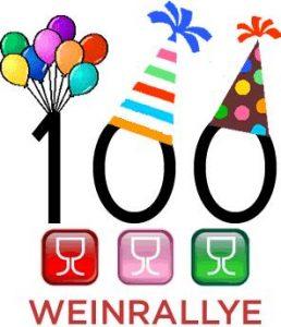 Logo Weinrallye #100