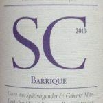 Spätburgunder & Cabernet barrique