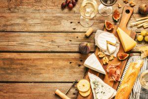 Weinplanerin. Riesling zu Käse