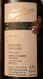 Weinberatung Riesling Arens