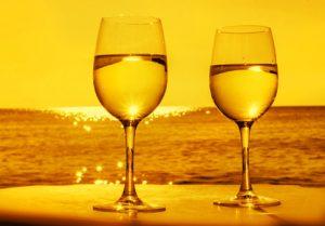 Egon und der Sommerwein.