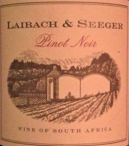 Laibach und Seeger Pinot Noir