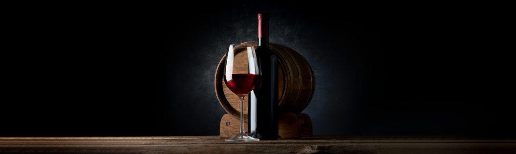 Schnittmenge Rotwein.EinfachWein.
