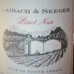Pinot Noir Laibach & Seeger